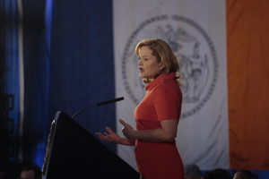 Council Speaker Melissa Mark-Viverito at her State of the City address. (Photo: William Alatriste/NYC Council as reported in the New York Observer)