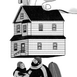 """Image published as part of a New York Times OpEd, """"How to Fight Homelessness"""" published 10/19/15."""