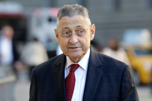 """As reported in the NYT 4/4/15, """"Sheldon Silver, the former New York State Assembly speaker, arrived at federal court in Manhattan on Tuesday. Credit Seth Wenig/Associated Press."""""""