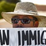 Demonstrating for immigrant rights in Arizona. Photo credit Colorado Public Radio report, 3/3/16