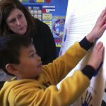 A pre-kindergarten student at H.W. Harkness Elementary School in Sacramento with Assemblywoman Susan Bonilla, D-Concord. Loretta Kalb, Photo Credit The Sacramento Bee report, 3/29/16 Read more here: http://www.sacbee.com/news/politics-government/capitol-alert/article68720617.html#storylink=cpy