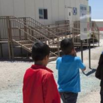 Children walk to class at the South Texas Family Residential Center in Dilley, Texas. Charles Reed U.S. Immigration and Customs Enforcement, McClatchyDC Report