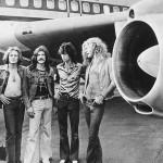 Led Zeppelin, from left, John Paul Jones, John Bonham, Jimmy Page and Robert Plant, in 1973. Credit Hulton Archive/Getty Images