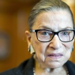 Supreme Court Justice Ruth Bader Ginsburg in her Supreme Court chambers in Washington in July 2014. (Cliff Owen/AP)